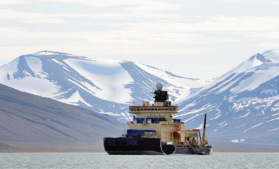 Polarforskare på plats
